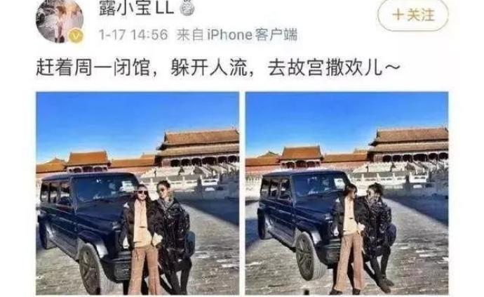 """人民日报评""""开车进故宫"""":规则面前没有""""撒欢儿""""的特权"""