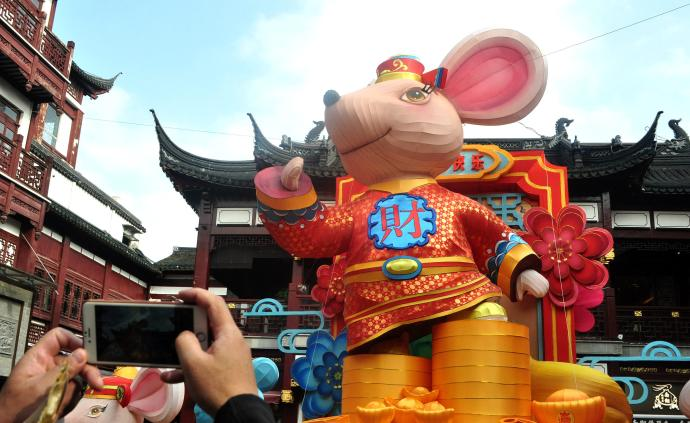 上海豫園:新春民俗藝術燈會即日起閉燈