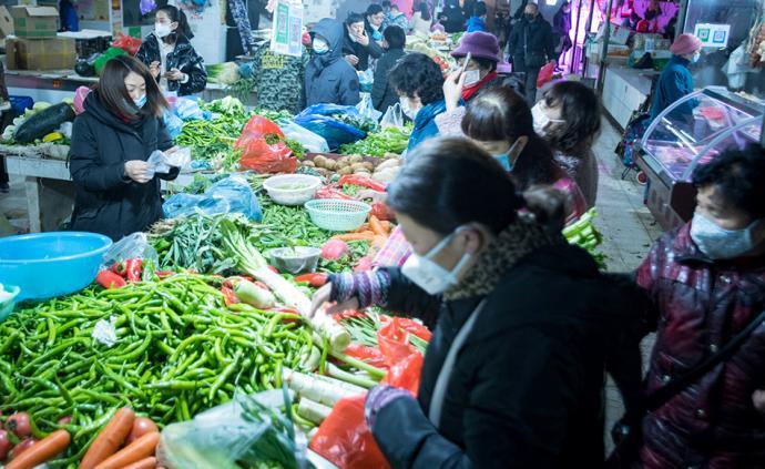 農業農村部:做好菜籃子保供,調度武漢等重點地區生產供應