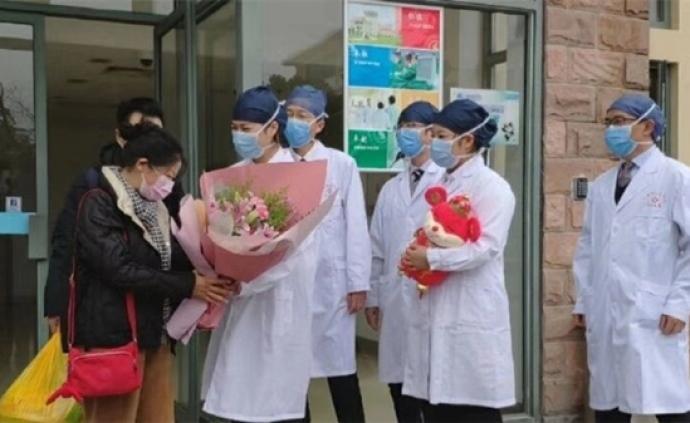 上海两例新型冠状病毒肺炎患者出院!夫妻俩透露隔离生活细节