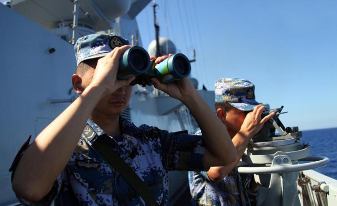 美艦擅闖我南海島礁鄰近海域,南部戰區回應:予以警告驅離