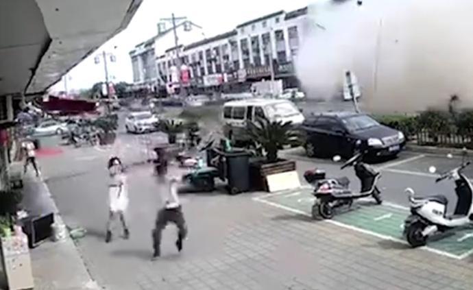 """无锡公布致""""9死10伤""""小吃店爆炸调查结果:刑拘6人"""