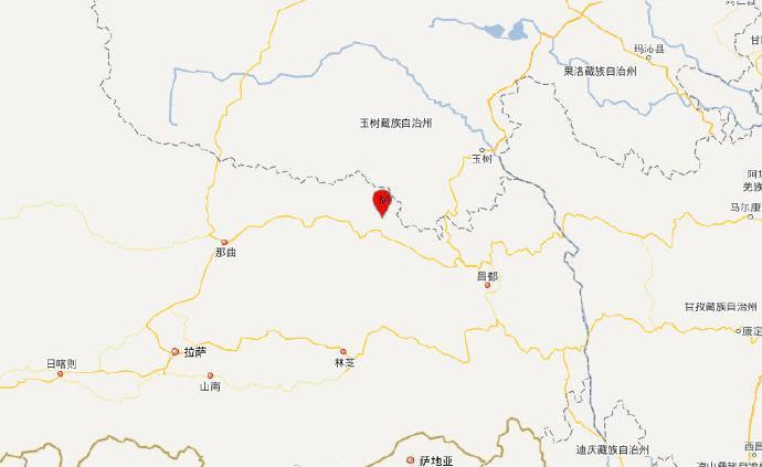 西藏昌都市丁青县发生5.1级地震,震源深度10千米