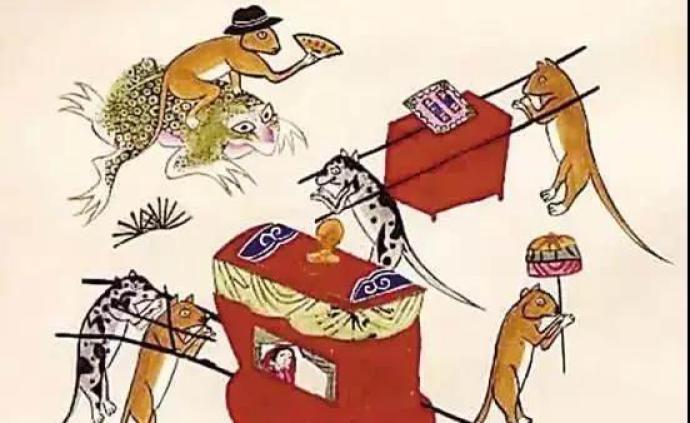 民间艺术与年味② 老鼠嫁女的动画、年画、剪纸及其他