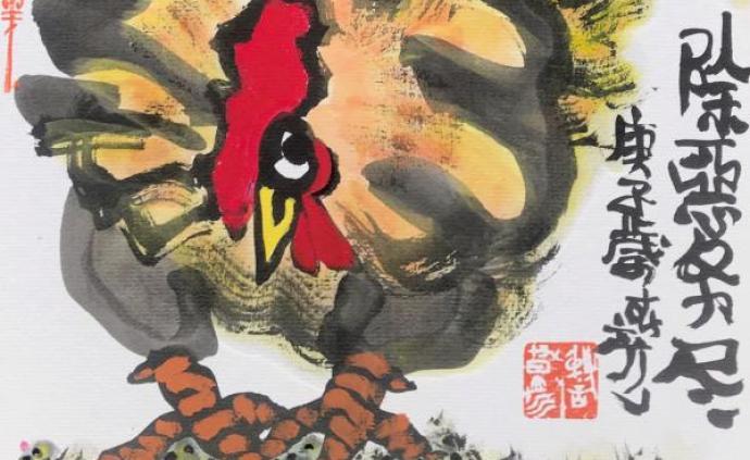 """專欄·荒唐彥 """"除惡務盡的大公雞""""與""""寄往春天的詩箋"""""""