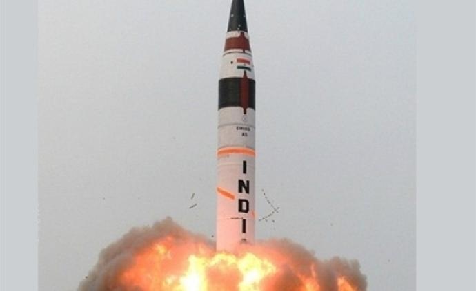 印度正研發K-5潛射核導彈,射程覆蓋亞洲大部分區域
