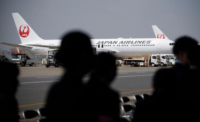 日本航空往返中國的部分航班停航,部分路線減少航班