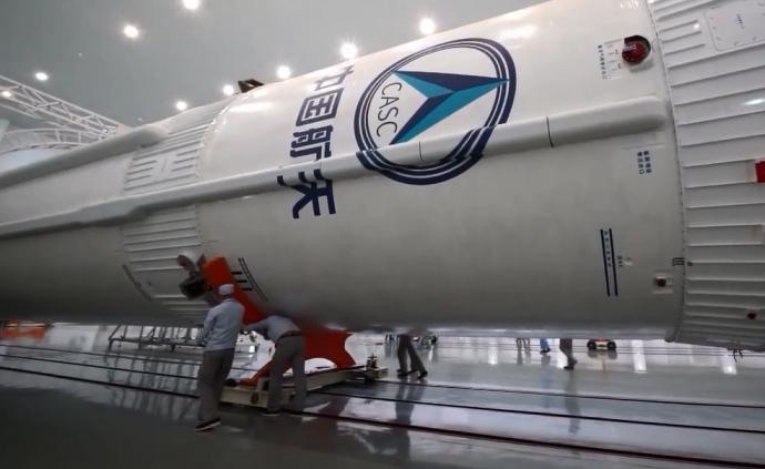 視頻|長征五號B遙一運載火箭運抵文昌,將執行首飛任務
