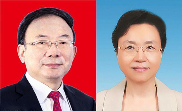 李小敏、王燕文任江蘇省人大常委會黨組副書記