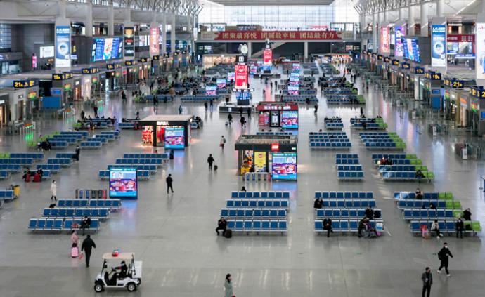 2月9日全國鐵路預計發送旅客200萬人次