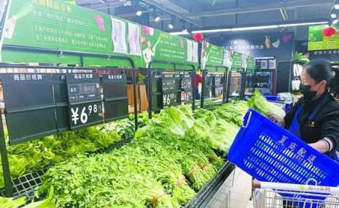 農業農村部:重點城市葉菜供應問題將逐步得到解決