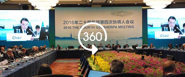 G20峰会最后一次协调人会议在杭州开幕,磋商领导人公报