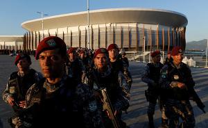 """巴西军队开始巡逻奥运场地,总统称有""""可靠的安全计划"""""""