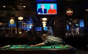 美国大选首场辩论吸引8400万美国人,破36年前收视纪录