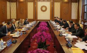 大外交丨中埃举行首轮战略合作磋商,中方呼吁推动产能合作