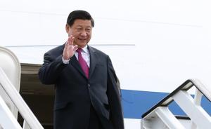 习近平抵达金边,开始对柬埔寨进行国事访问