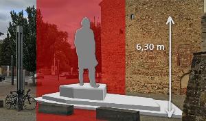 巨型马克思雕塑拟安放其故乡,引发公共艺术讨论