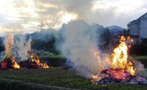 辽宁建秸秆焚烧防控追责体系:秸秆火点数量超标干部将受处分
