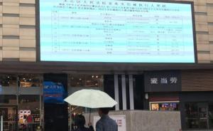 """长沙商业街大屏幕晒""""老赖"""" 名单,法院现场兑付3000万"""
