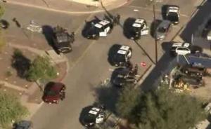 美国加州两投票站附近发生枪击事件被紧急关闭,至少1死3伤