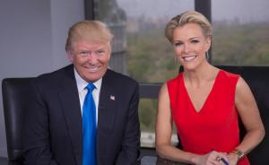 """女主播:特朗普以""""给好处""""方式试图在选战中影响媒体报道"""