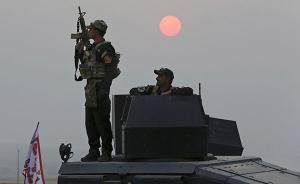 """伊拉克军队全面包围摩苏尔,""""伊斯兰国""""补给被断困在城内"""