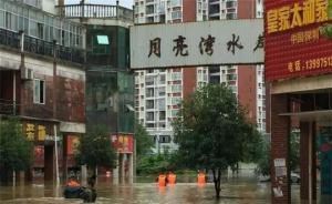 湖北阳新县堤防现30米溃口,一村妇女主任布置巡堤途中失踪