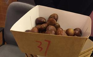 上海消保委测评37种糖炒栗子:坏果屡现,近半数缺斤短两