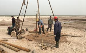 探访鄱阳湖水利枢纽选址地:正进行地质勘探,拟建配套弃渣场