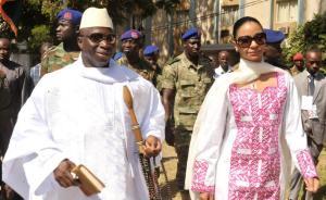 贾梅在冈比亚总统选举中败选,曾任职长达22年