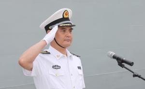 张文旦少将任南部战区副参谋长,曾任南海舰队副司令员