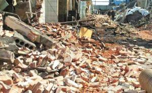 福建福清七旬老人疑遭强拆被倒塌围墙砸死,安监、公安调查