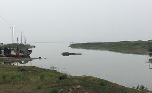 鄱阳湖枯水期调查:水厂取水口裸露,有居民家中装水箱储水