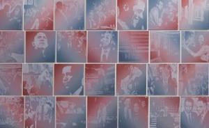 """艺术送行奥巴马:从""""希望""""海报到八年完成的近三千幅画像"""