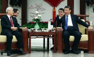 习近平向越共总书记赠送胡志明75年前汉语诗作,背后有深意