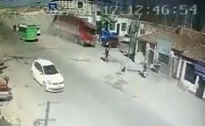 宁夏货车撞民房已致包括货车司机在内5人死亡