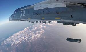 """俄土首次在叙利亚联合空袭,摧毁""""伊斯兰国""""多处目标"""