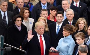 特朗普正式宣誓就任美国总统,再次强调美国优先原则