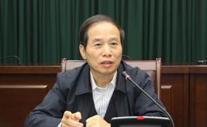 陈伦辞去福建省人大常委会副主任职务