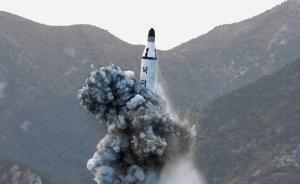 """朝鲜或大力发展固体导弹,增强""""二次反击""""能力"""