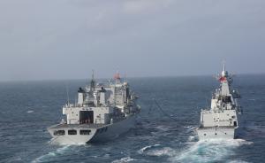 海军南海舰队远海训练编队完成南海训练,下步将进入东印度洋