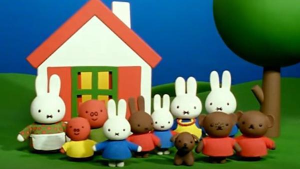 动画片《米菲和它的朋友们》片头曲
