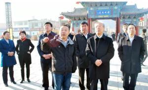 山西吕梁市委书记李正印调研于成龙廉政文化园、故居和墓地