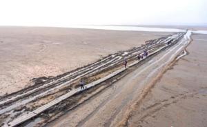 """鄱阳湖明代""""千眼桥""""完成首次大修,仍用花岗岩材料修旧如旧"""