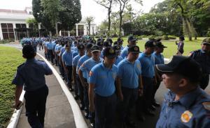 """菲律宾将""""发配""""300名有不良记录的警察到战乱区工作"""