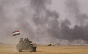 伊拉克部队发起攻击,从IS手中完全夺回摩苏尔机场