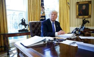 特朗普接受英媒专访:对朝鲜射导弹很愤怒,本该由奥巴马解决