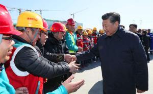 """习近平考察北京回访:""""撸起袖子加油干""""刻在每位建设者心上"""