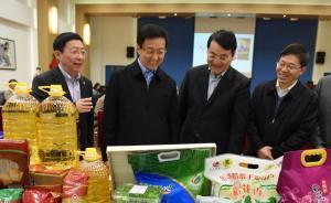 韩正调研百联、光明集团:按照搞活国企的基本原则,全力突破