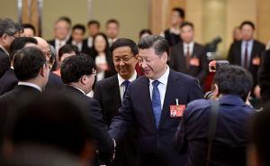 全国人大上海代表团举行全团会议,韩正主持并发言
